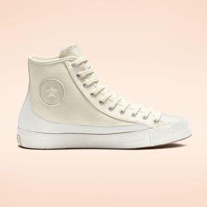Converse All Star Sasha High Top Egret Cream White